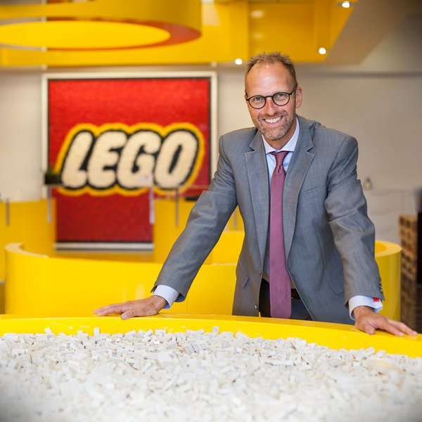 Jørgen Vig Knudstorp is the executive chairman and former CEO of the Lego Group.
